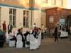 für die Gäste der Heidestrassen Galerien und für eine Hochzeitsgesellschaft am Samstag schuften.