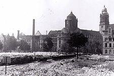 Trümmerbahn August 1950