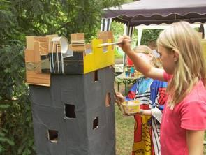 Kreatives Umweltlernen im Schulgarten