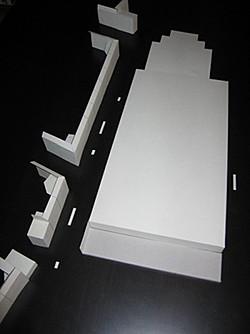 Modell der des Großmarkts und der Wohnbebauung an der Siemensstraße, Foto: BI-Siemensstraße