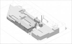 Visualisierung Einkaufscenter Schulheiss-Areal, Zeichnung: Kahlfeldt Architekten