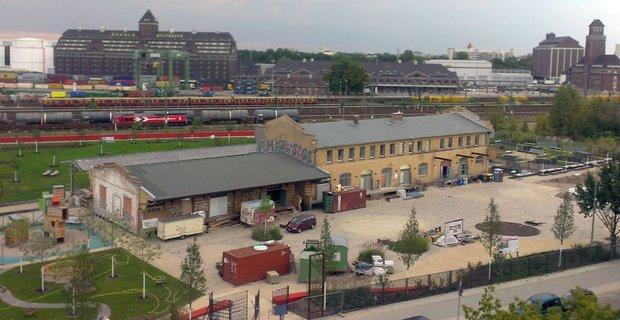 Zentrum für Kunst und Urbanistik (ZK/U) im Moabiter Stadtgarten; Foto: ZK/U