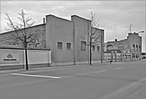 Werkstattgebäude aus der Entstehungszeit der Hamburger Eisenbahn (2014 abgerissen)