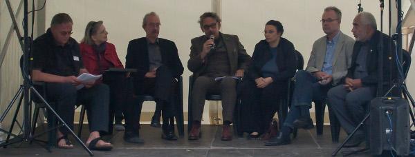 von links nach rechts: Dr. Pulsforth, Reichwald-Siewert, Dr. Hanke, Prof. Dr. Kocks, Spielhaus, Goetze, Hajjir