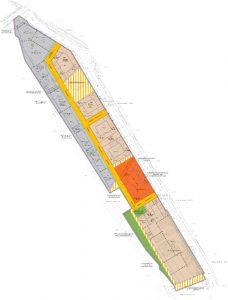 Karte der verschiedenen Nutzungsfestlegungen