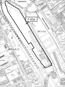 Geltungsbereich des B-Plans 1-62a