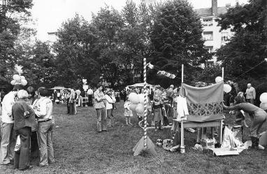 Erstes Sommerfest 1977 im Essener Park
