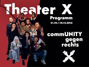 Zum aktuellem Programm des Theater X / JugendtheaterBüro Berlin