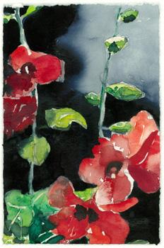 Aquarell von Sigrid Bellack